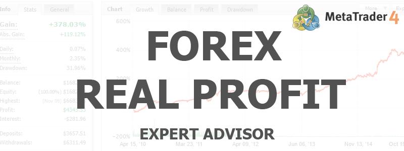 Forex Real Profit EA - скальпинг без границ | Скачать Советник Форекс