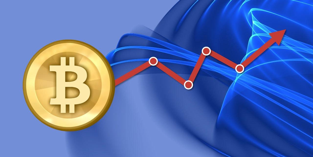 Биткоин достиг стоимости выше 6500$ очередной прорыв