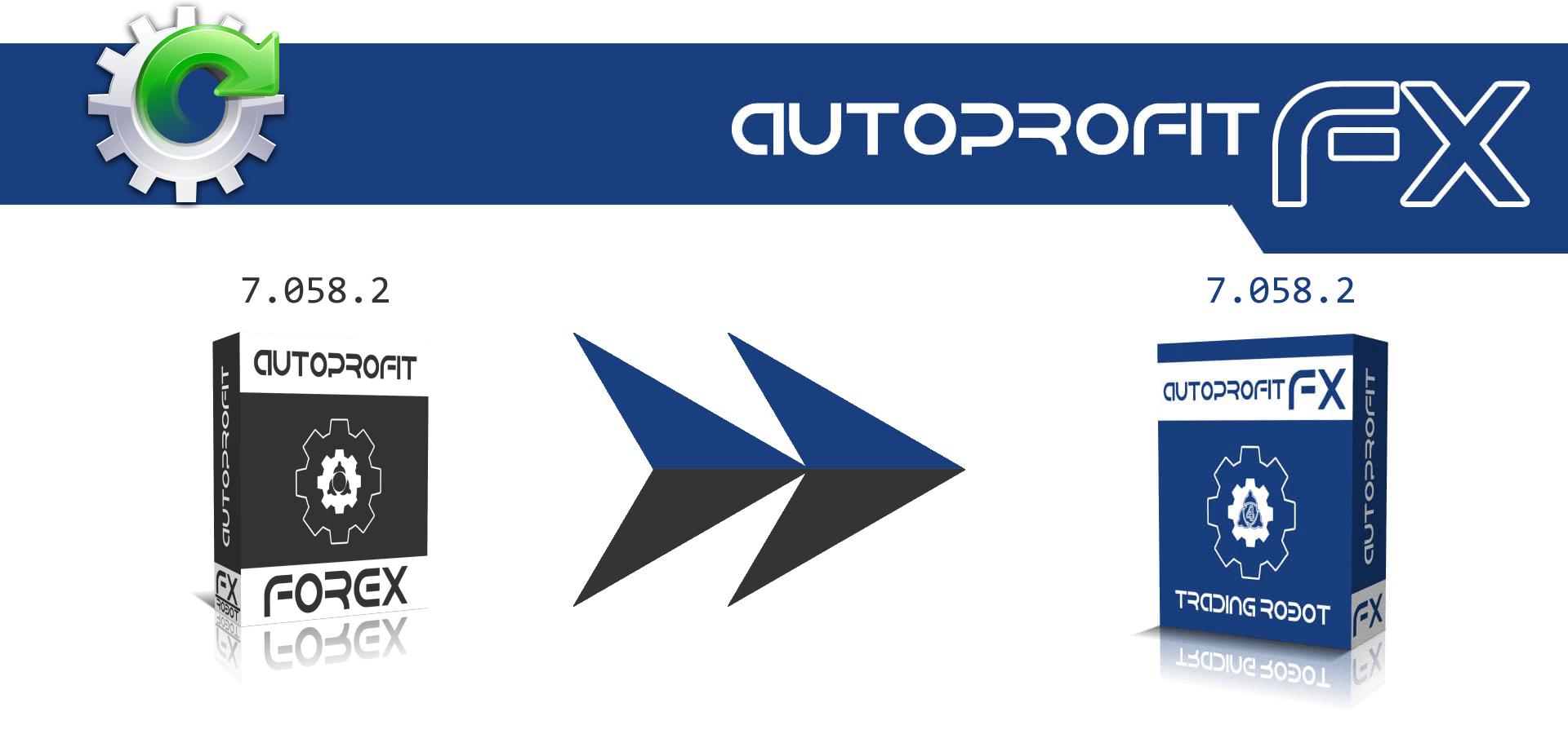 Обновление AutoProfitFX EX до версии 7.058.2